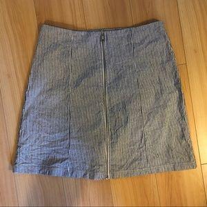 Brandy Melville stripped skirt